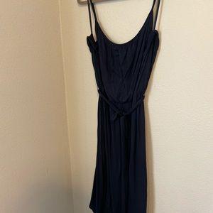 Loft Navy Maxi Dress